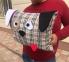 Подушка собачка Бербери 0