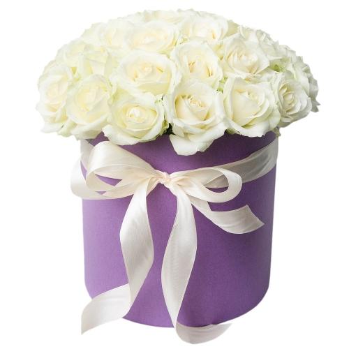 Розы в коробке для любимой