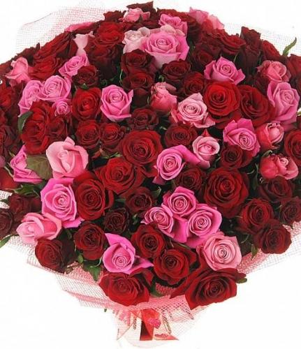 Кармен (101 роза)