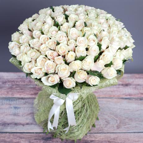 Букет из 101 розы «Талея»