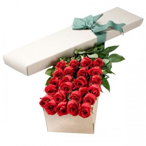 Цветы в коробке-24