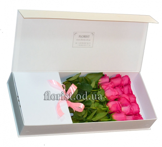 Цветы в коробке-18