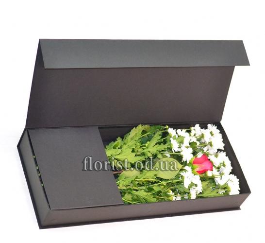 Цветы в коробке-17