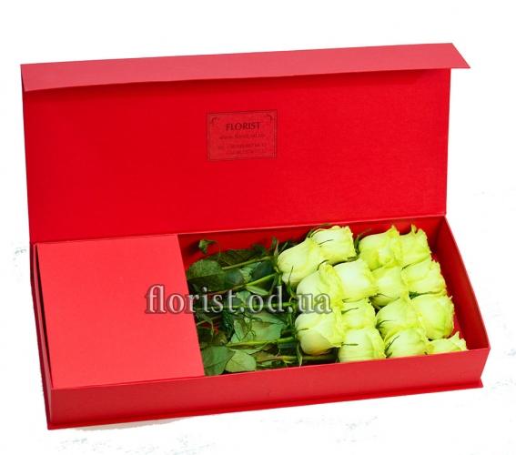 Цветы в коробке-13