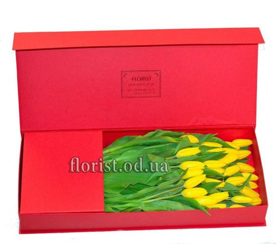 Цветы в коробке-23