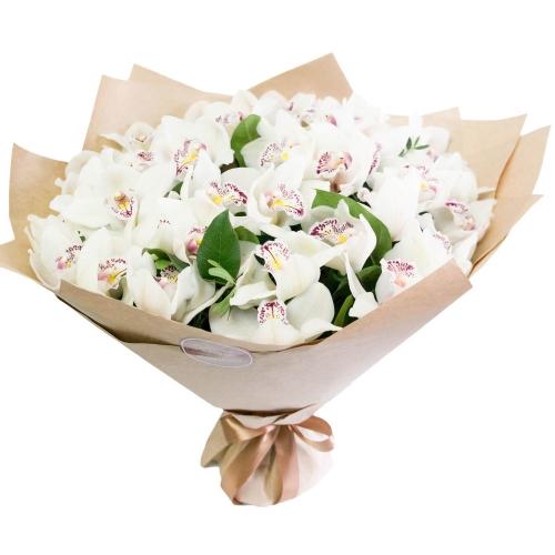 Букет орхидей Карамелька
