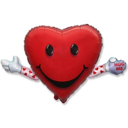 Огромное сердце Обнимашка