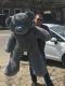 Большой серый  мишка Тедди